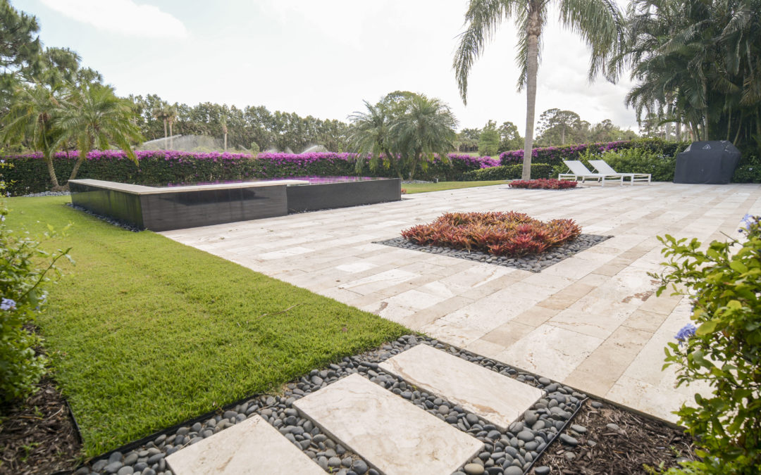 Modern Paver Design by Apex Pavers and Pools