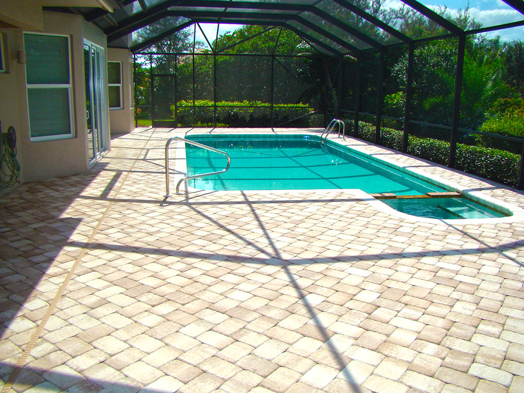Pool Paver Cleaning After