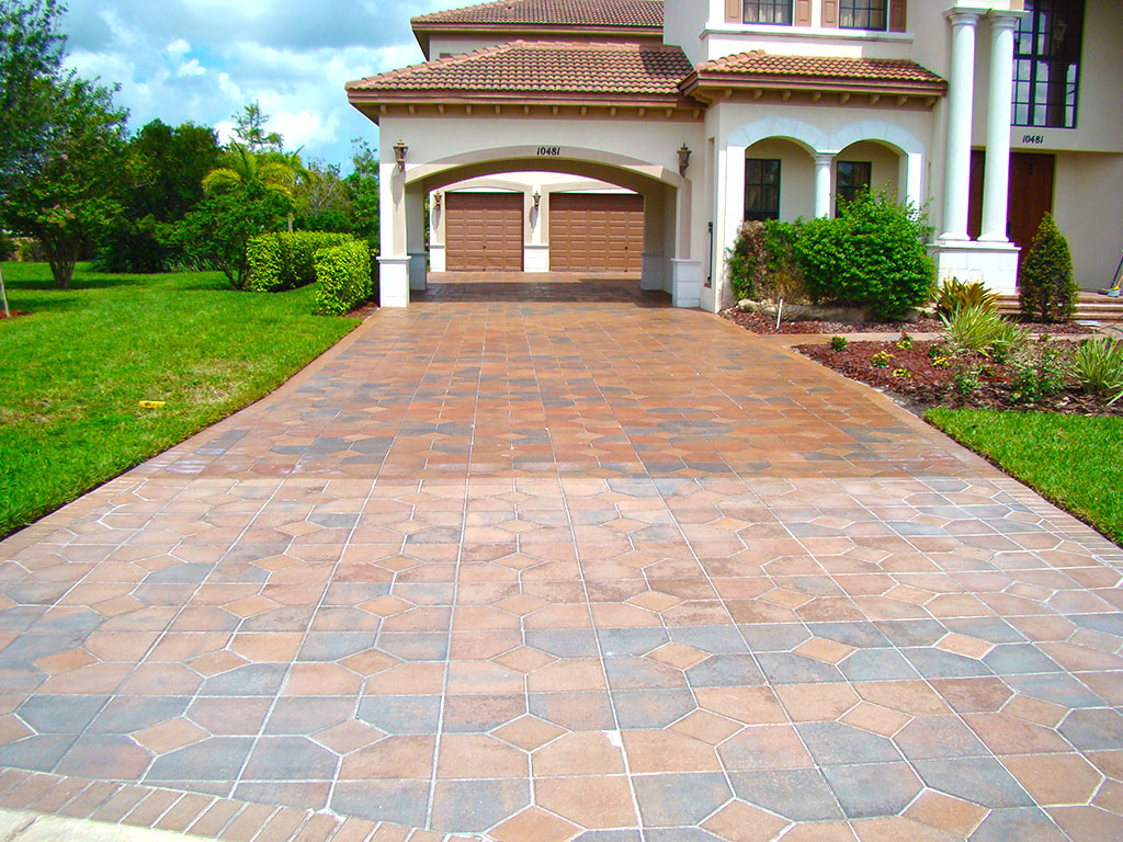 driveway sealing by apex pavers and pools